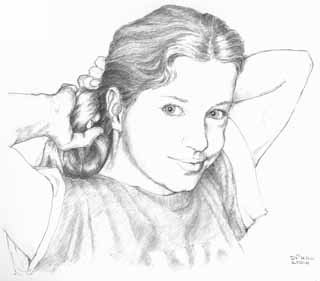 head-and-shoulders drawing
